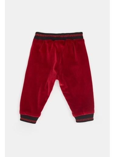BG Baby Kız Bebek Kırmızı Eşofman Altı 20Fw0Bg2217 Kırmızı
